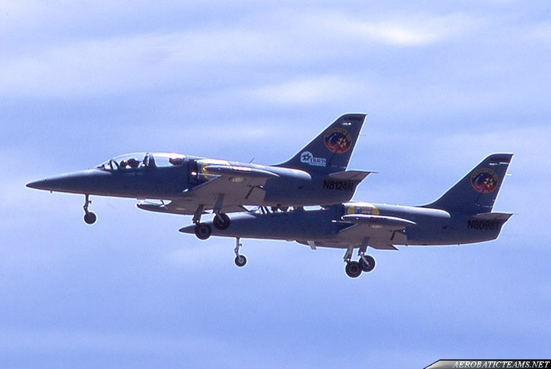 Northern Lights Aerobatic Team L-39C Albatros in grey livery