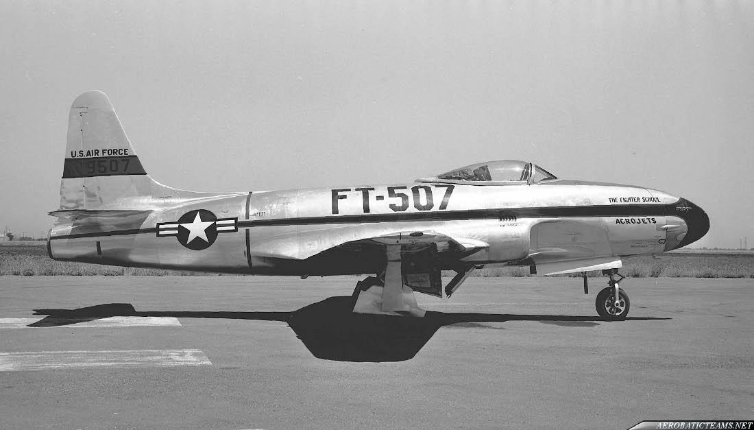 Acrojets Lockheed F-80 Shooting Star