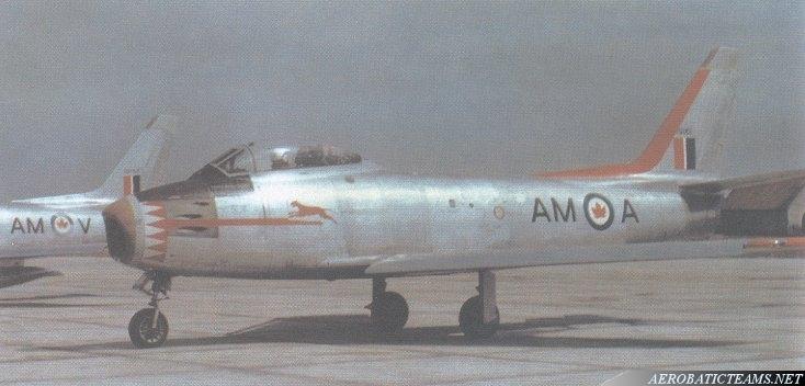 Blue Devils Canadair F-86 Sabre