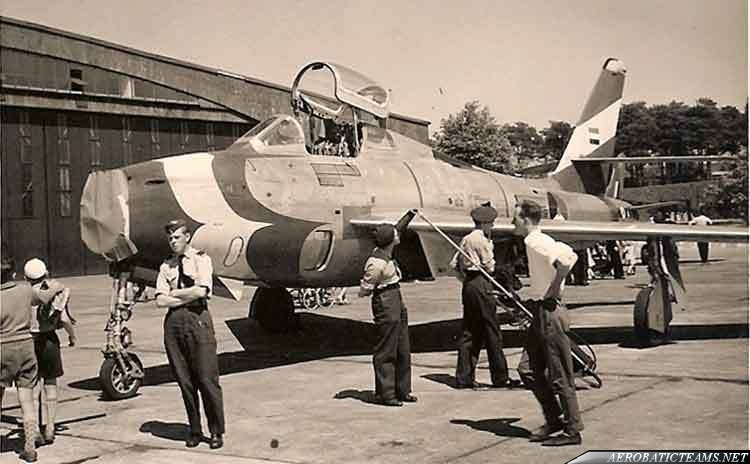 Dash Four F-84F Thunderstreak