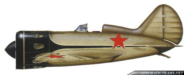 Red Five I-16 paint scheme