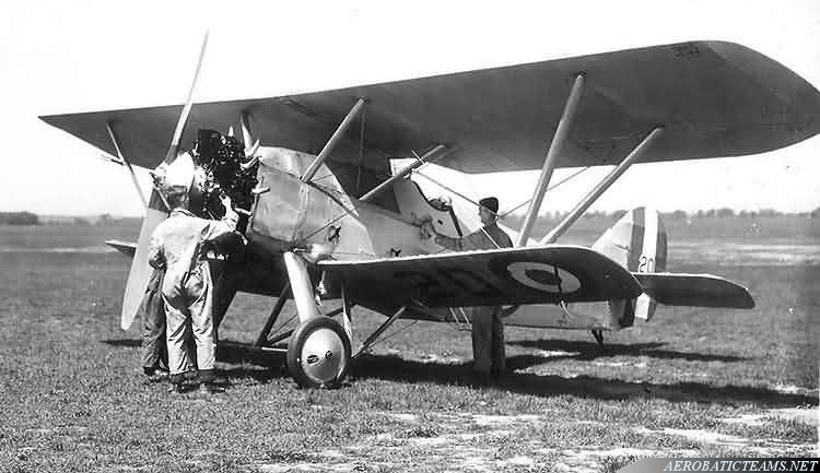 Siskins Armstrong - Whitworth Siskin IIIA