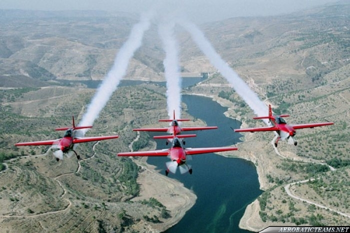 Royal Jordanian Falcons Extra 300L
