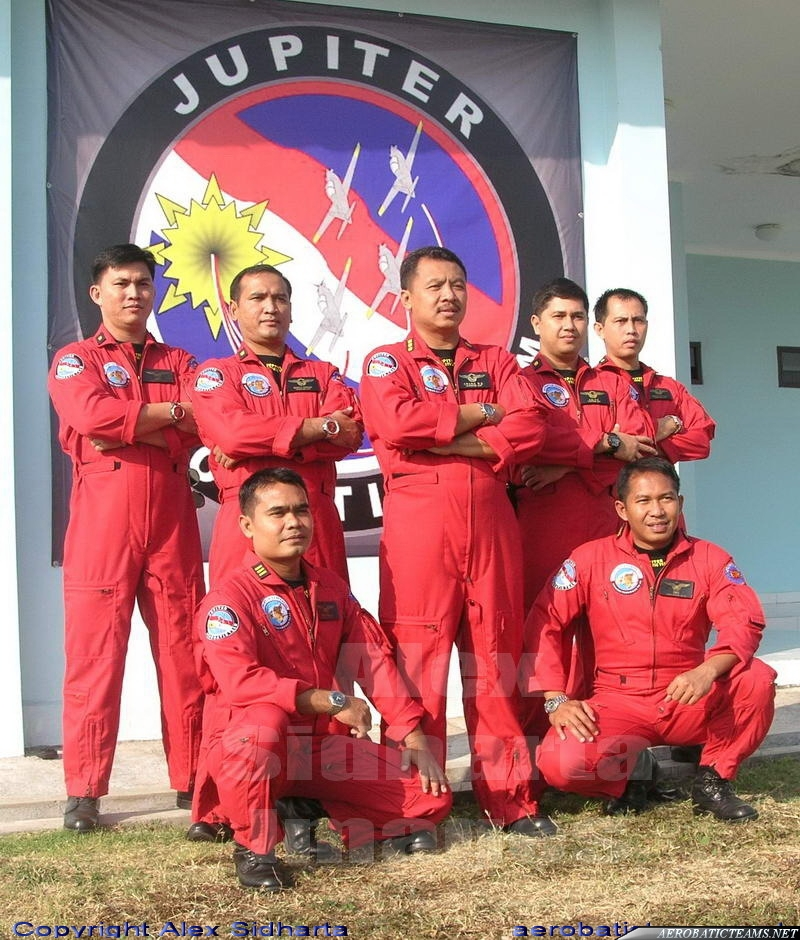 Jupiter Aerobatic Team pilots