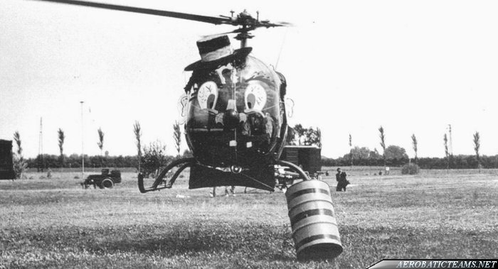 Silver Eagles OH-6A BOZO