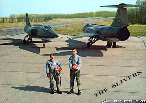 Slivers F-104 Starfighter pilots