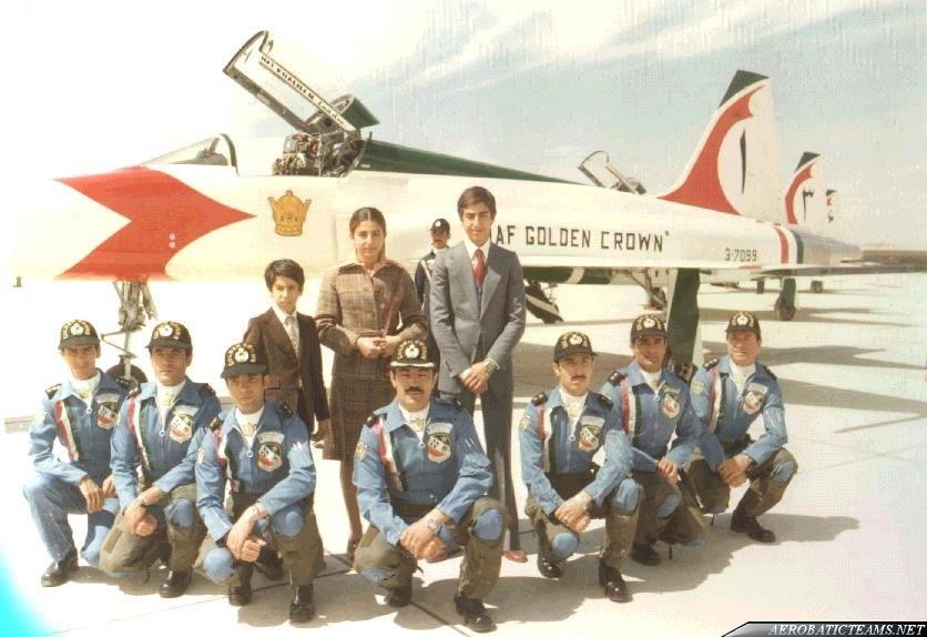 Golden Crown F-5A pilots