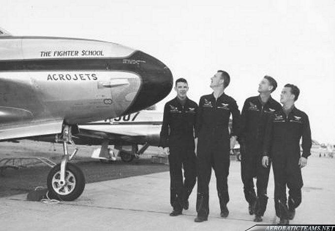 Acrojets pilots