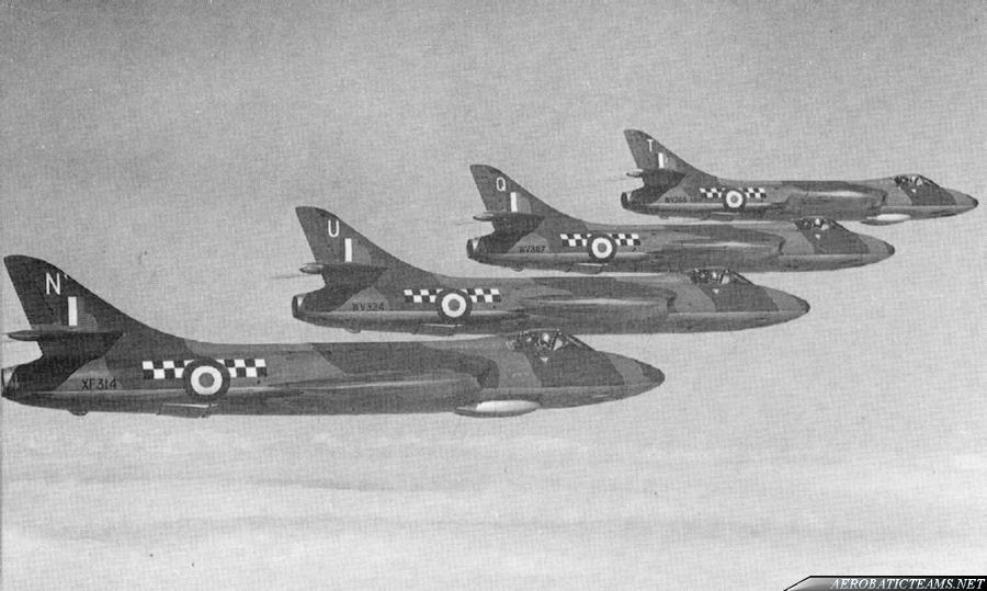 Fighting Cocks Hawker Hunter F1