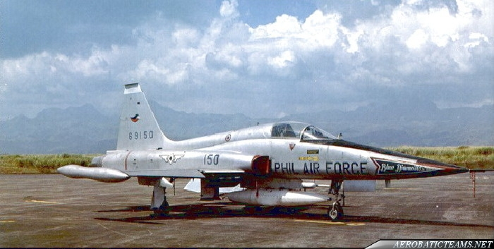 Blue Diamonds Northrop F-5A Freedom Fighter from 1968