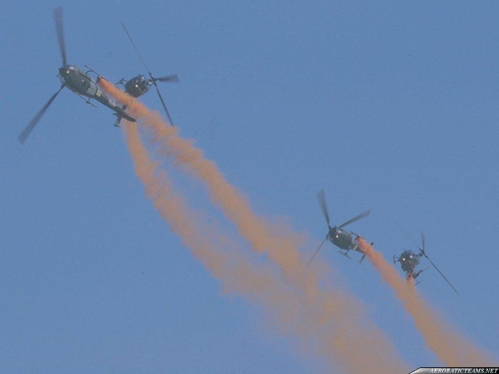 Blue Eagles Gazelle SA341B
