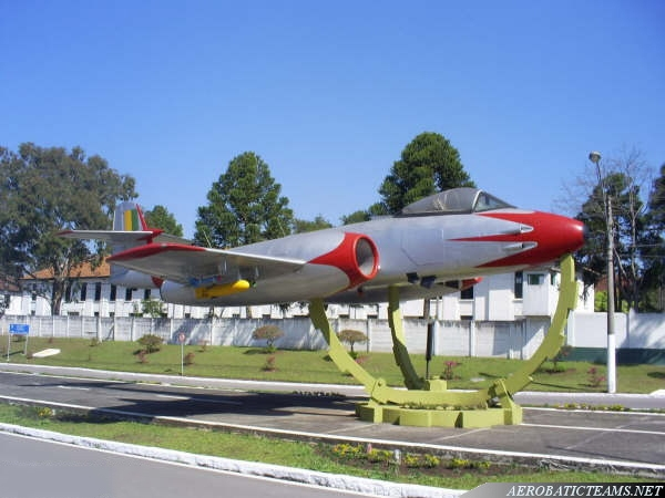 Pif-Paf Team Gloster Meteor F8. Photo by Wagner Nascimento