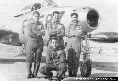 Aces Four pilots