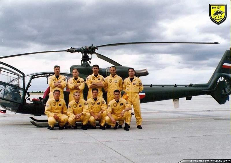 Hornets SOKO SA341 Gazelle