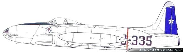 Condores de Plata F-80 Shooting Star