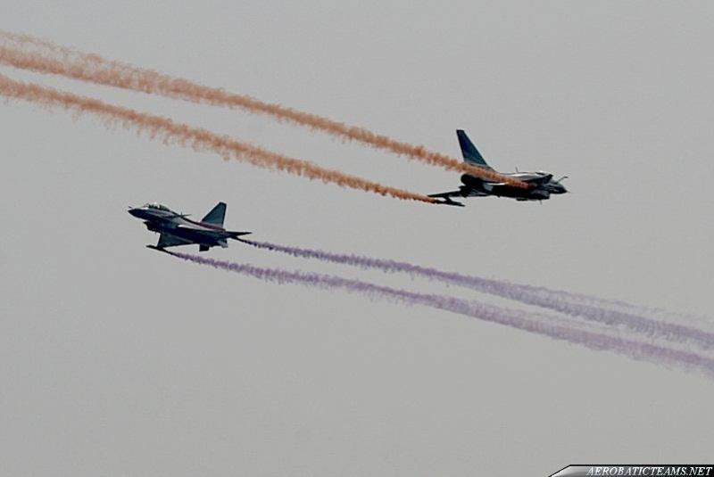 August 1st Chengdu J-10. Photo by Ken Duffey at Zhuhai Airshow 2010