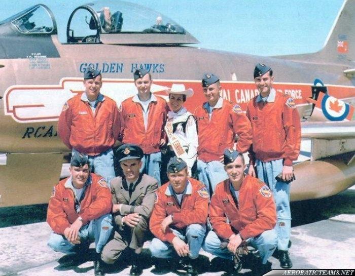 Golden Hawks Pilots