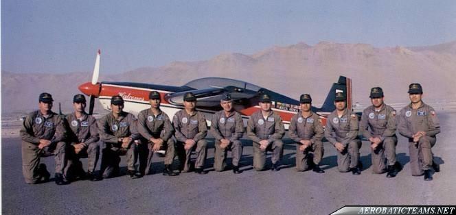 Halcones crew
