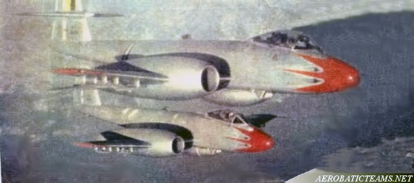Pif-Paf Team Gloster Meteor F8