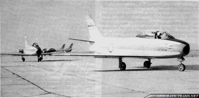 204 Air Wing Aerobatic Team Sabre