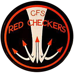 Red Checkers aerobatic team logo