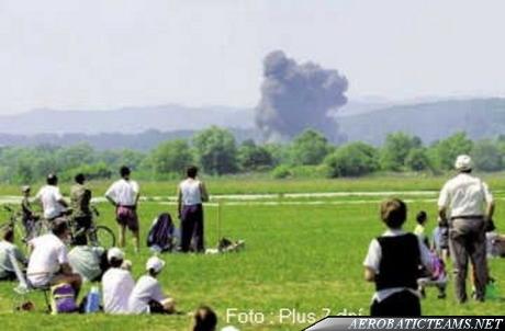 White Albatrosses L-39. June 3, 2000, Sliac Airshow crash