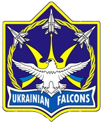 Ukrainian Falcons badge