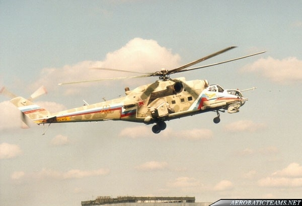 Berkuts Mi-24 Hind. From 1992 to 2012
