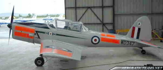 RAF Skylarks de Havilland Chipmunk