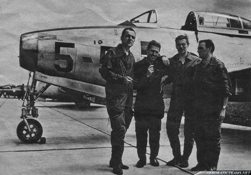 Guizzo F-84G Thunderjet pilots