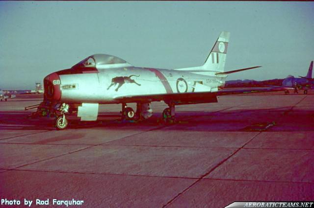 Black Panthers CA-27 Sabre