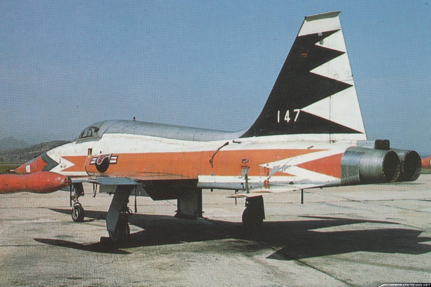 Black Eagle F-5A Freedom Fighter