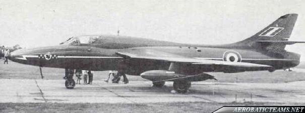Blue Diamonds Hawker Hunter F6