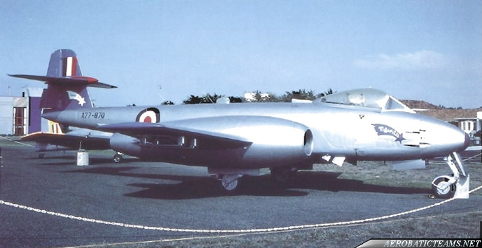 RAAF Meteorites Gloster Meteor F8