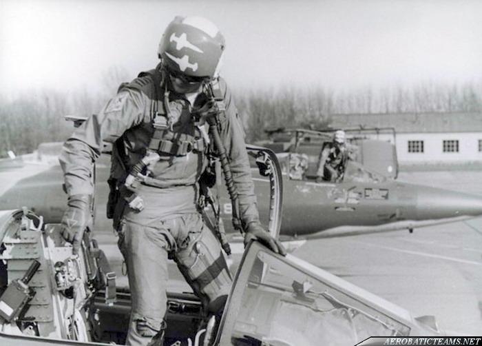 Slivers F-104 Starfighter pilot