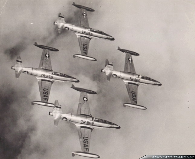 USAFE Acrojets Lockheed T-33 Shooting Star