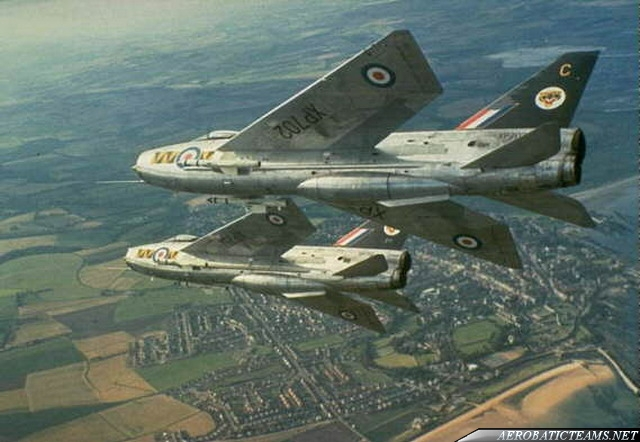 Tigers English Electric Lightning F.1A