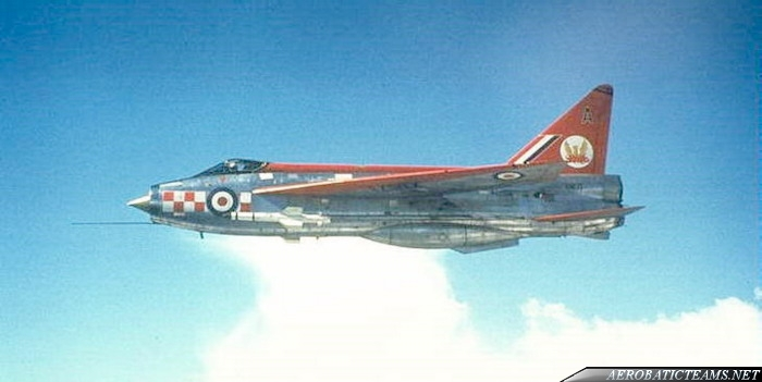 Firebirds English Electric Lightning F.Mk 1A