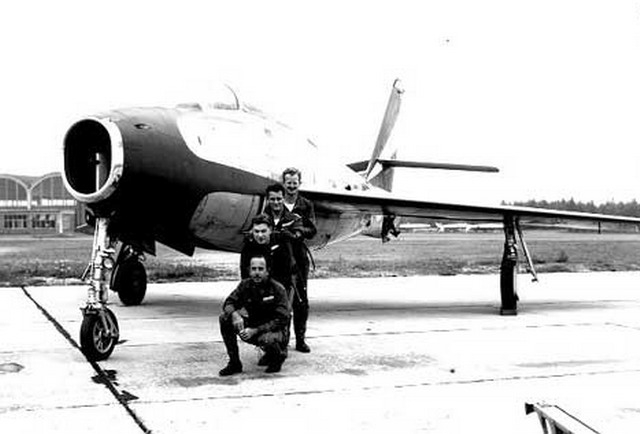 Red Noses F-84F Thunderstreak
