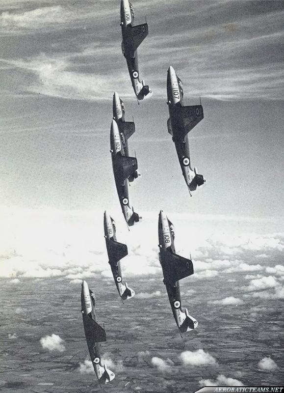 No 800 Squadron Display Team