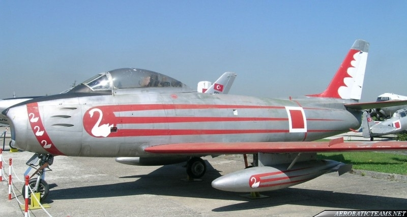 Flying Swans F-86E Sabre