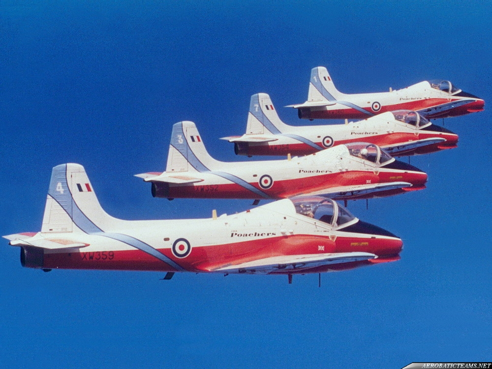 The Poachers Jet Provost T.5