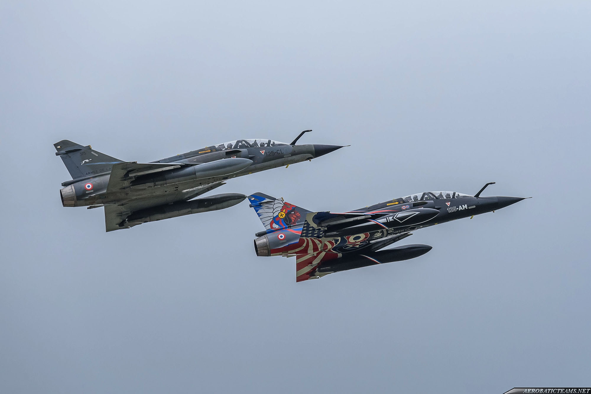 New Mirage 2000 display team