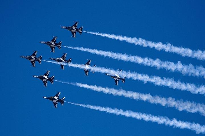 Farnborough airshow denied the full Black Eagles display