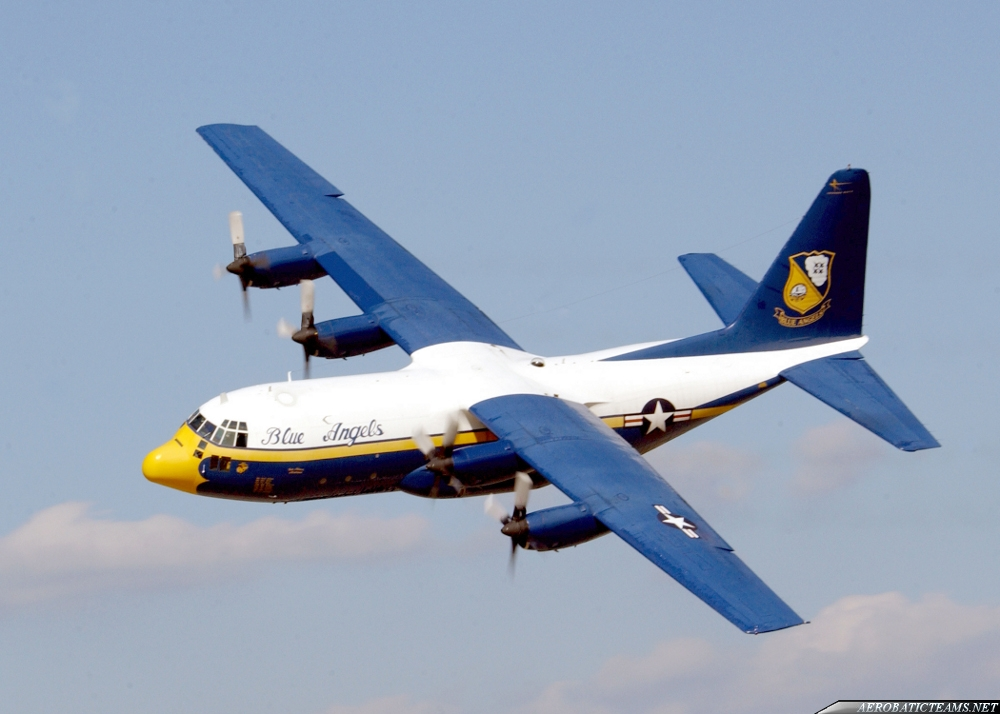 Blue Angels can receive C-130J aircraft from Royal Air Force