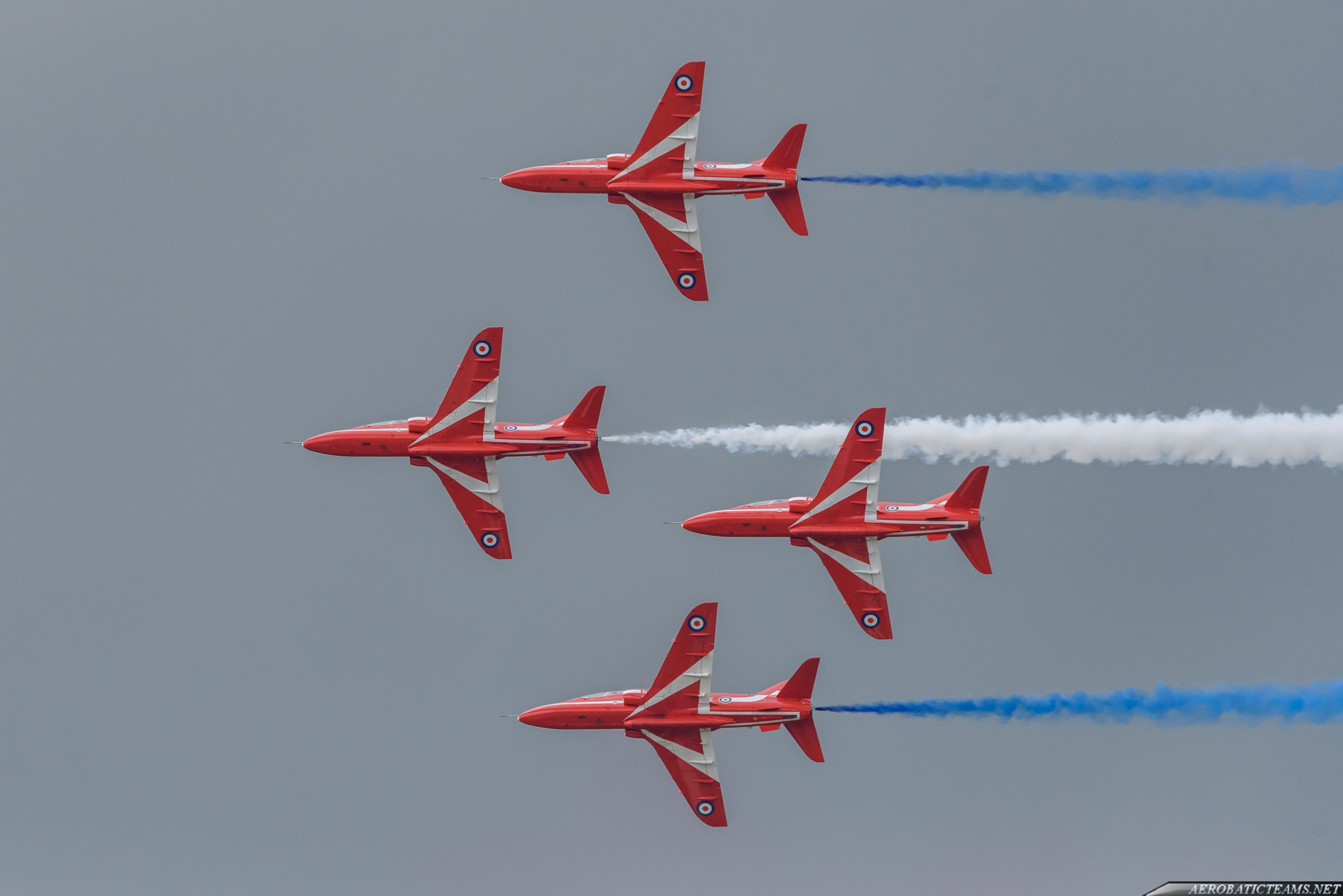 Four new pilots join Red Arrows for 2019 show season