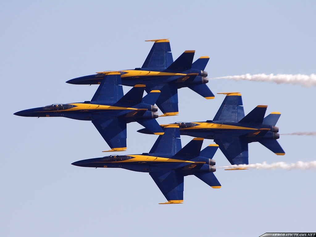 Blue Angels Announce 2011 Team Members