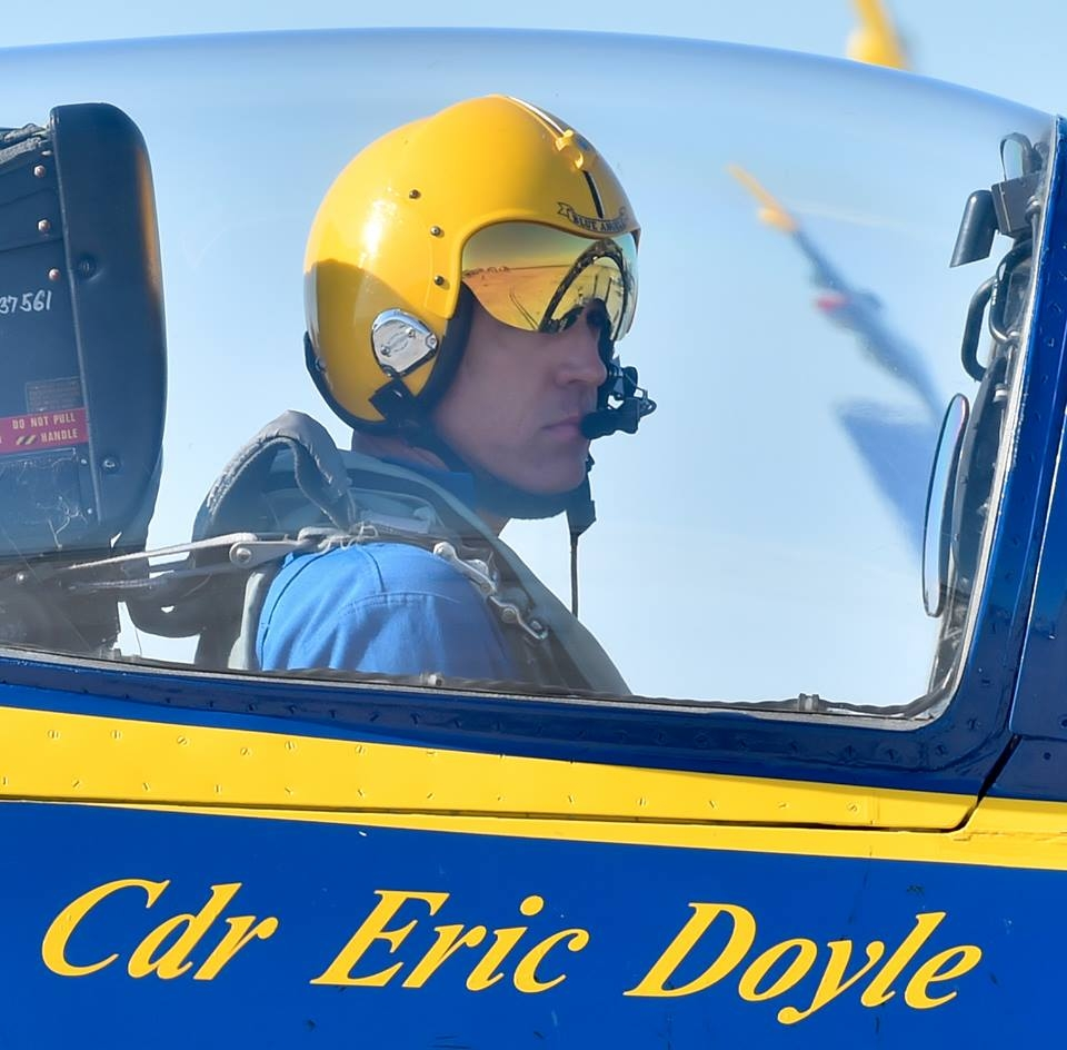 Blue Angels change commanding officer