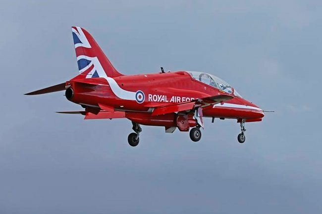 Red Arrows unveil new tailfin design