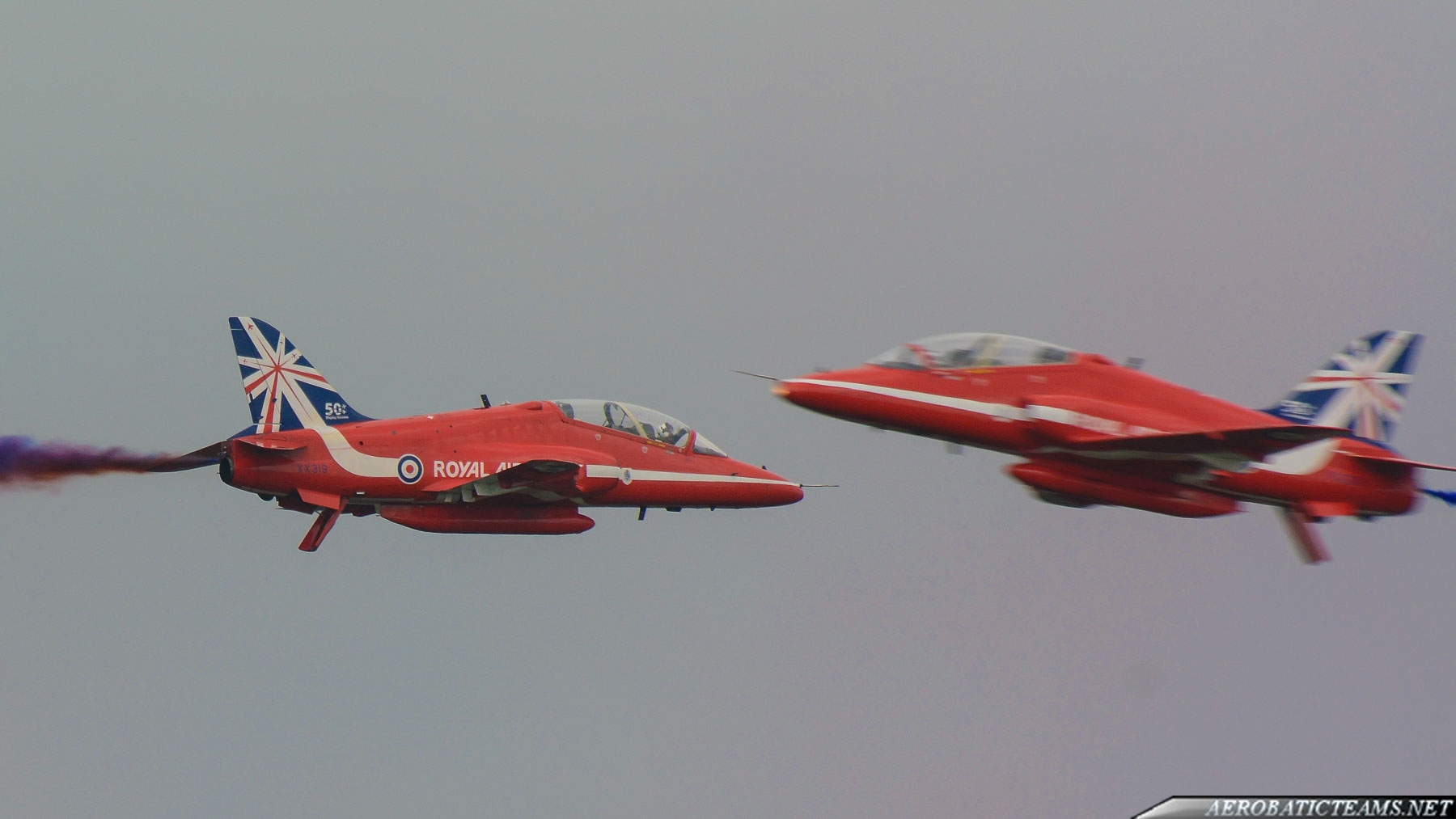 Red Arrows bird strike at Waddington